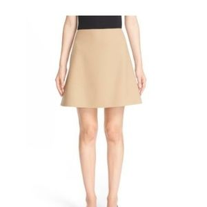 "Theory ""irenah Saxton"" stretch wool skirt"